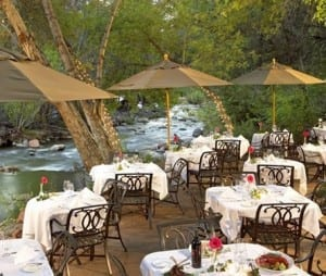 L Auberge Restaurant in Sedona AZ